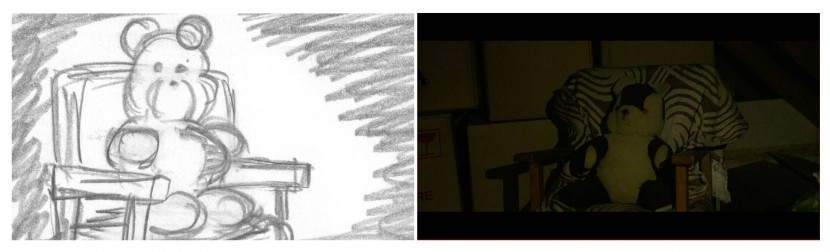 Pieces storyboard comparison 2